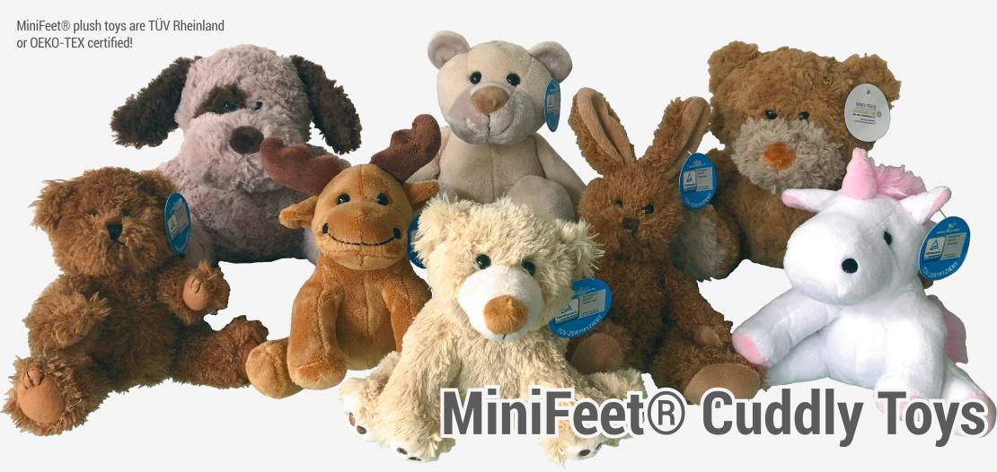 MiniFeet Plush Toys