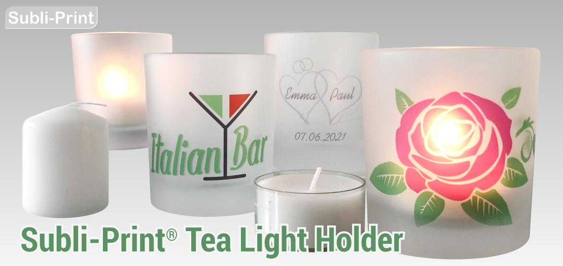 Subli-Print Tea Light Holder