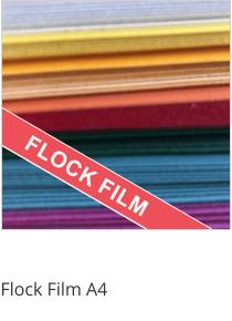 Flock Film Sheets A4