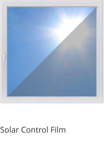 Solar Control Film