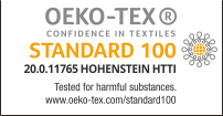 SUPERIOR FLEX PERFORM OEKO-TEX