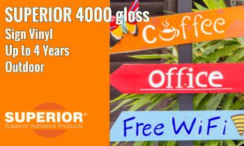 SUPERIOR 4000 Sign Vinyl